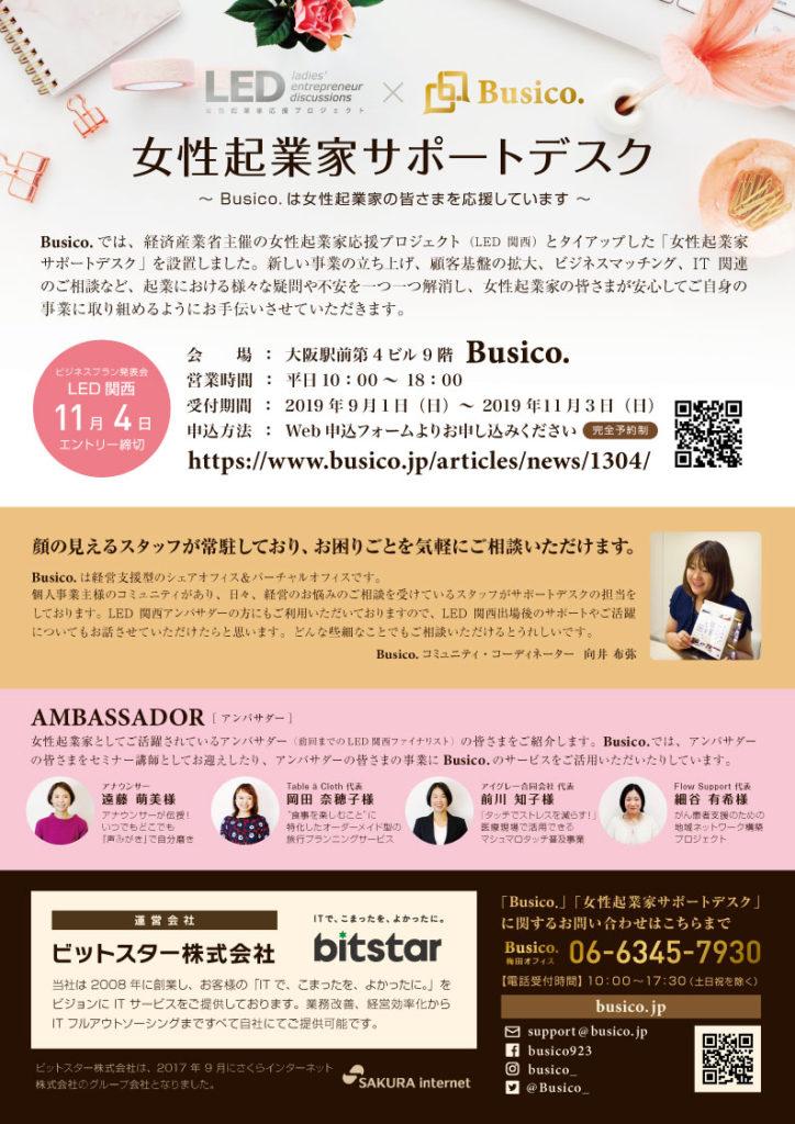 女性起業家サポートデスク